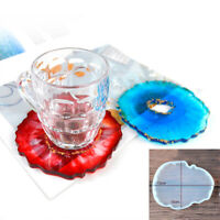 Wave Agate Coaster Resin Casting Mold Silicone Jewelry Making Epoxy Mould DIY