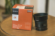SONY 50mm F1.4 Lens SAL50F14 Japan Ver. New + UV filter