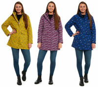 Arctic Storm Womens Peace Printed Waterproof Jacket | Coat