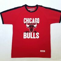 Chicago Bulls x Mitchell and Ness T-Shirt | Medium/Large | Red/Black | Rare