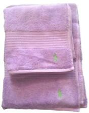Ralph Lauren Purple Bath Sheet and Hand Towel