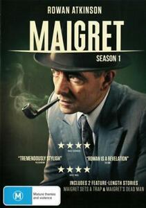 MAIGRET: SEASON 1 (MAIGRET SETS A TRAP / MAIGRET'S DEAD MAN) (2016) [NEW DVD]
