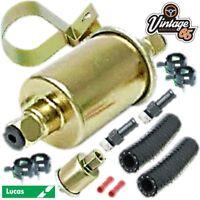Triumph MG Lucas 12v High Performance Universal Electric Fuel Pump & Fixing Kit