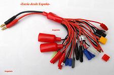 Cable de carga multiconector (19 en 1)  modelismo, radiocontrol. Lipo Mi-MH Life
