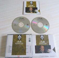 BOX 2 CD ALBUM SUR MA VIE ENREGISTREMENT ORIGINAUX CHARLES AZNAVOUR  24 T. 1992