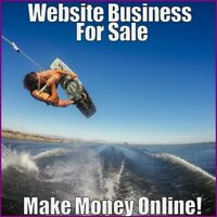 Fully Stocked WAKEBOARDING Website Business|FREE Domain|FREE Hosting|Traffic
