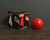 Perfect Automatic Silk to Ball - Red Stage Magic Trick Gimmick Illusion Magician
