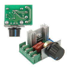 220V 2000W Speed Controller SCR Voltage Regulator Dimming Thermostat ASS