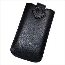 Housse Etui Pochette Protection façon cuir noir pour SAMSUNG Galaxy A5 (2017)