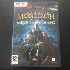 LOTR The Battle for Middle Earth 2 II - Rise of the Witch King PC Expansion