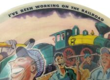 "I've Been Working On The Railroad Picture Record Art Mooney 10"" 78 RPM 1947"