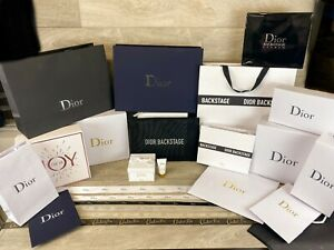 Authentic DIOR Gift Boxes | Gift Bags | Ribbon | Gift Wrap | VIP Gifts & More!