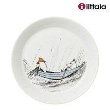 NEW Iittala Arabia Ceramic Moomin Plate TRUE TO ITS ORIGINS 19cm