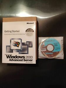 Windows 2000 Advanced Server English Dockit C10-00028 Nuovo