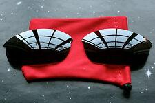 Dark Grey Polarized Replacement Sunglass Lenses for Oakley Flak Jacket