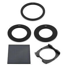 55/58/72MM ADAPTER RING + FULL ND8 FILTER+ WIDE HOLDER FOR COKIN P SERIES System