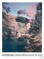 TRAIN ART PRINT - O. Winston Link - Train #201 East Bound Over Bridge 52 Poster