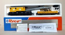 Roco H0 46331 DB Crane Wagon With Protection Wagon. New In Original Box.