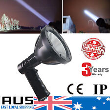 1000W Rechargeable Spotlight Hunting Torch Spot Light US CREE LED 12V T6 AU Plug