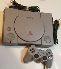 Sony PlayStation 1 Gray Console PS1 System w/ Controller, Cables