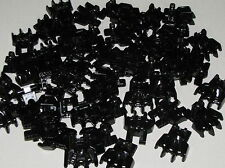 Lego Lot of 50 New Black Hero Factory Foot with Four Short Claw Parts