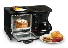 Space Saver Toaster Oven Best Small Coffee Maker 4 Cup Breakfast Station 3 In 1
