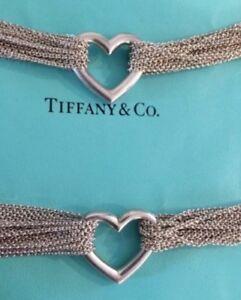 Tiffany & Co necklace and bracelet.