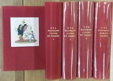 HOFFMANN - CONTES ET DESSINS ROMANS COURTS - complet 5 Volumes - 1956/58 -EN TBE