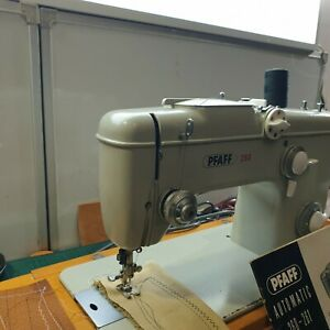 Pfaff 260 Automatic Heavy Duty Sewing Machine Germany Serviced