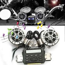 Waterproof Audio Radio MP3 Speakers For Yamaha XVS 650 Custom Silverado Classic