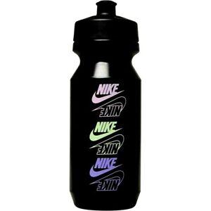 Nike BPA Free Big Mouth Graphic Sports Gym 22oz Water Drinks Bottle.Black Multi