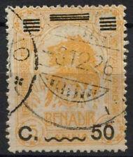 Italian Somaliland 1926 SG # 74, oppure su 5A yellow-orange Lion Usato #A 92215