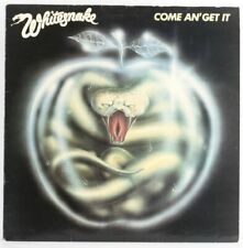 Whitesnake , Come And Get It   Vinyl Record *USED*