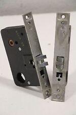 Lot of (2) Yale Mortise 8000 Series Stainless Steel RH Door Lock