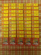 200 x Sealed Lego Trading Cards (50 Packs) Sainsburys 2020 Living Amazingly~NEW