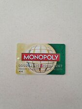 MONOPOLY Here Now The World Edition - Replacement BANK CARD (Green)