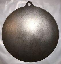 "Ar500 Steel Target 12"" X 1/2"" Gong Hanger NRA Action Pistol Plate"