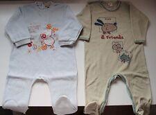 Lote niño: pijamas tipo pelele. Talla 18 meses.