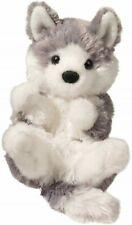 Lil Handful Husky Puppy Dog Douglas Cuddle Toys Plush 15cm
