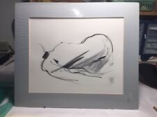 ORIGINAL Pen and Ink Drawings Nude, Pisani Art, Abstract