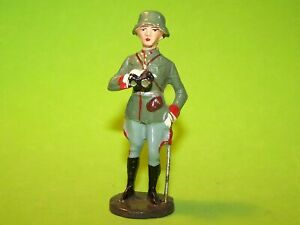 RARE! 1930's ELASTOLIN COMPOSITION FIGURE GERMAN OFFICER STANDING WITH SWORD