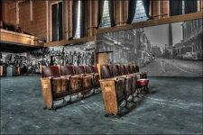 Ivo Sneeuw: Theater Jeusette Keilrahmen-Bild Leinwand Interieur lost places