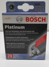 Lot / Box of 4 Spark Plug Platinum  Bosch 6705