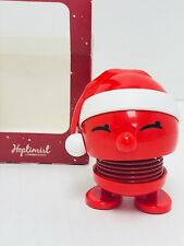 Hoptimist Baby Bumble Plastic Bobble Head Red Santa  Hans Gustav Ehrenreich NWT
