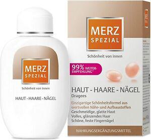 Merz Spezial Dragees Haut Haare Nägel Nahrungsergänzungsmittel 120 Stück 2