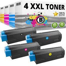 4 XXL TONER für OKI Data C3100 C3200 N C5100 N C5200 N C5300 DN C5300 N SPAR SET