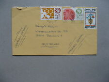 MEXICO, cover to Germany 1982, export honey bee tomato, sport Universiado
