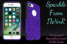 "Otterbox Commuter Series Custom Glitter Case for 5.5"" iPhone 7 Plus Purple/Black"