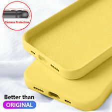 For iPhone 12 Mini 11 Pro Max XS XR 8 7 X Shockproof Liquid Silicone Case Cover