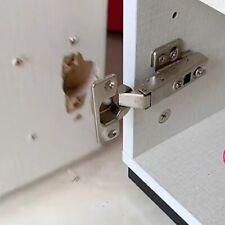 Topfband Reperatur Set , Schranktürscharnier ausgerissen, Ikea Schrank, Platte